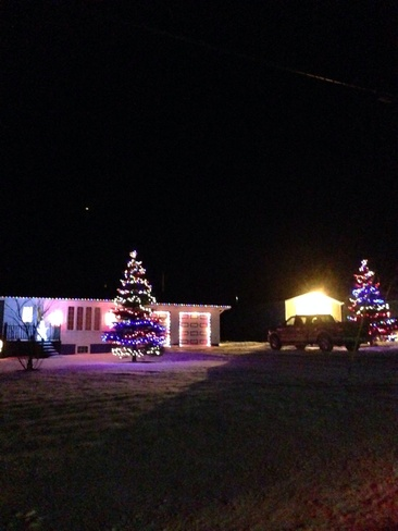 beautiful lights in r.h. Rocky Harbour, Newfoundland and Labrador Canada