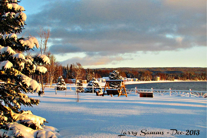 """Day After The Snow"" Springdale, Newfoundland and Labrador Canada"