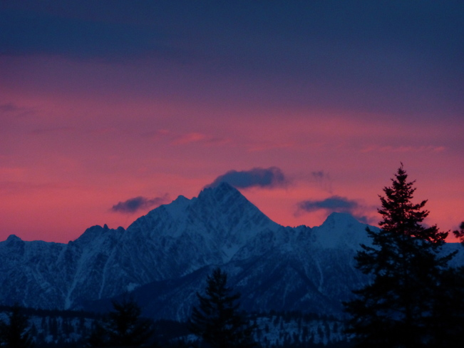BEFORE SUNRISE Cranbrook, British Columbia Canada