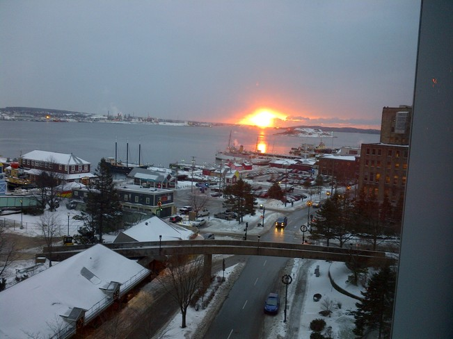 Halifax Harbour Sunrise Halifax, Nova Scotia Canada