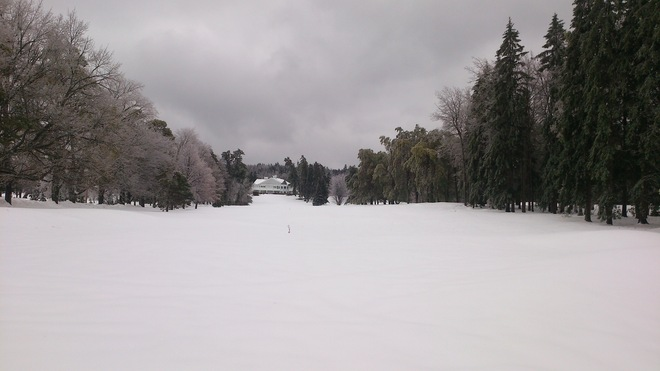 Ken-Wo Country Club after Ice Storm in New Minas New Minas, Nova Scotia Canada
