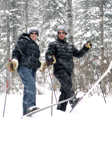 Christmas Day Ski Kirkland Lake, Ontario Canada