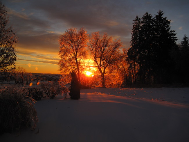 Christmas Morning Port Perry, Ontario Canada