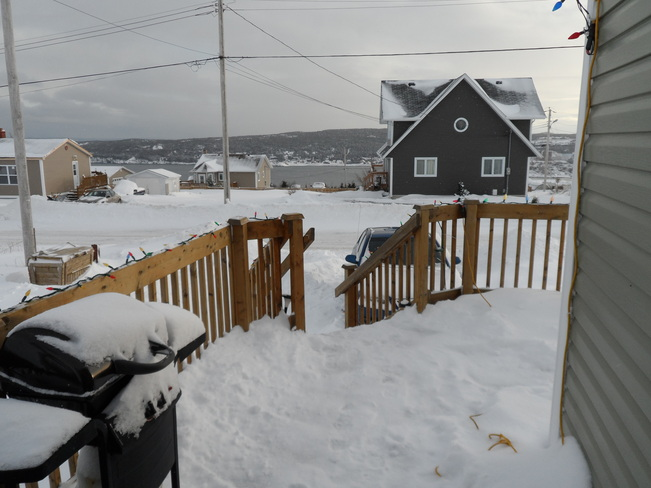 a white Christmas Carbonear, Newfoundland and Labrador Canada