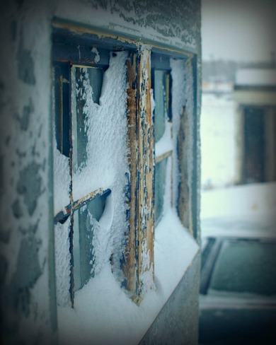 New Snow Fall 2 Oyen, Alberta Canada