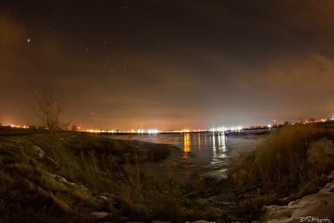 Night Photography Tilbury, Ontario Canada