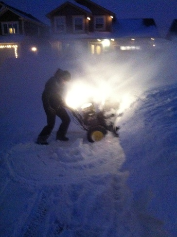 Snowblowing...again!!! St. John's, Newfoundland and Labrador Canada