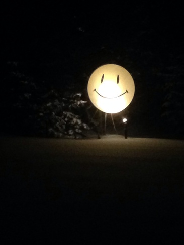 a wintery evening smile Olds, Alberta Canada