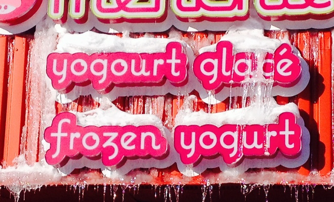 Frozen X2 ~ Yogurt!!! Dieppe, New Brunswick Canada