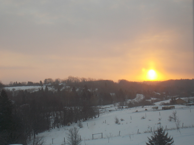 sunrise Lower Sackville, Nova Scotia Canada