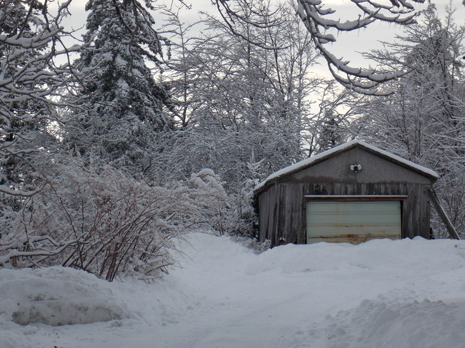 abandoned shed Lower Sackville, Nova Scotia Canada