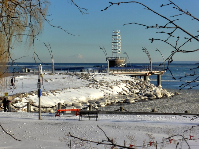 Freezing Burlington, Ontario Canada