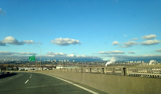 Sunny Day New Westminster, British Columbia Canada