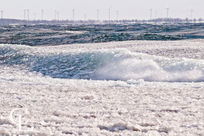Ice Wave Kingston, Ontario Canada