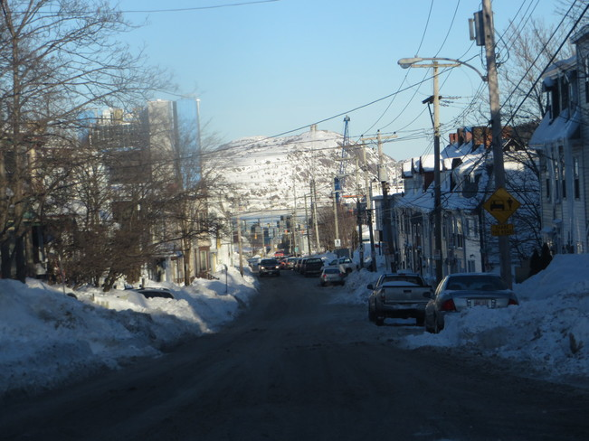 Signal Hill from Hamilton Avenue Mount Pearl, Newfoundland and Labrador Canada