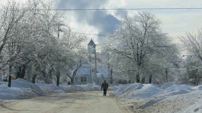 North End Ice Storm Saint John, New Brunswick Canada