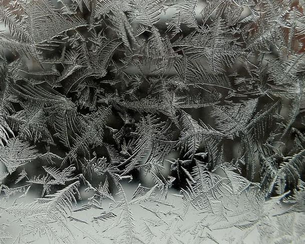 Ice crystals Georgetown, Ontario Canada