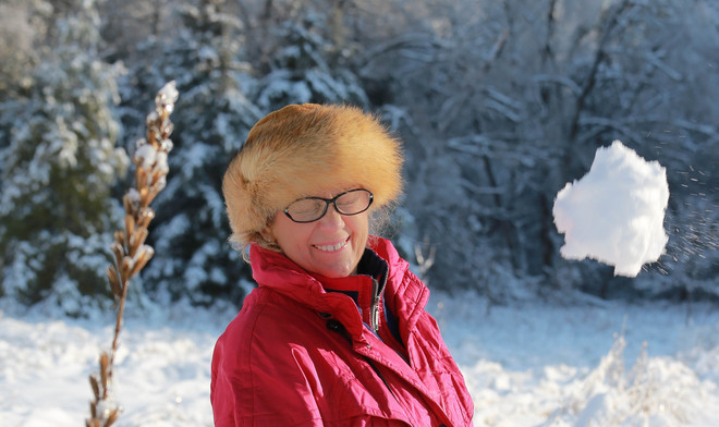 Mom vs Snowball Scarborough, Ontario Canada