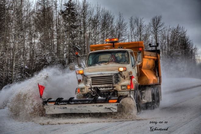 Thanks to the Plows Swan Hills, Alberta Canada