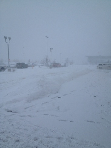 ugly weather Airdrie, Alberta Canada