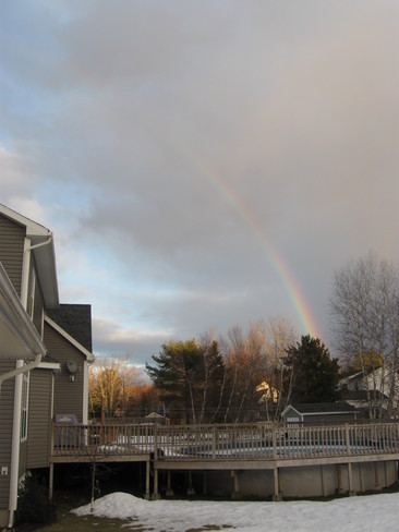 Winter Rainbow Kingston, Nova Scotia Canada