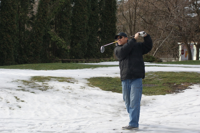 January Golf St. Davids, Ontario Canada