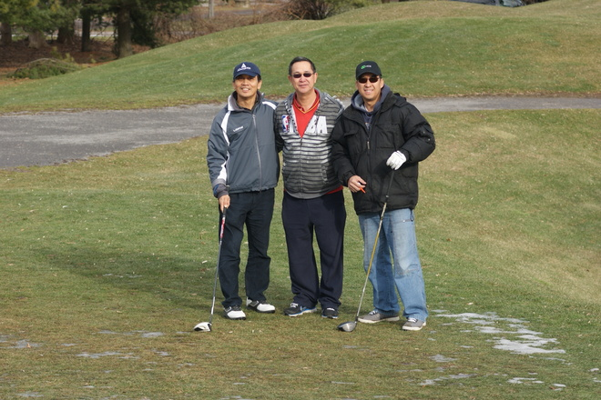 Winter Golf St. Davids, Ontario Canada