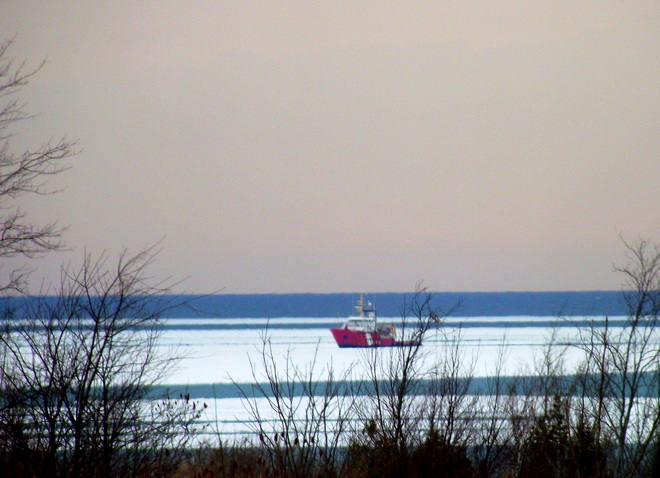 COAST GUARD ON LAKE HURON Goderich, Ontario Canada