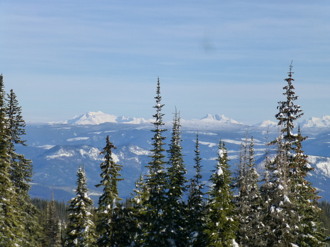 Silver Star Mountain on a sunny Day