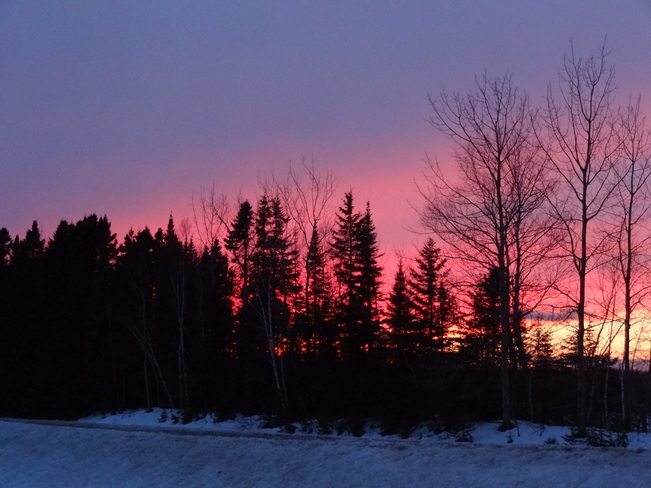 Sunset Bathurst, New Brunswick Canada
