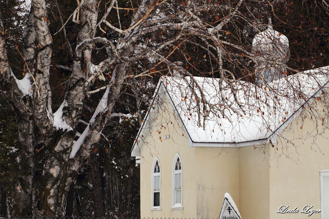 A Tiny Church East Selkirk Station, Manitoba Canada