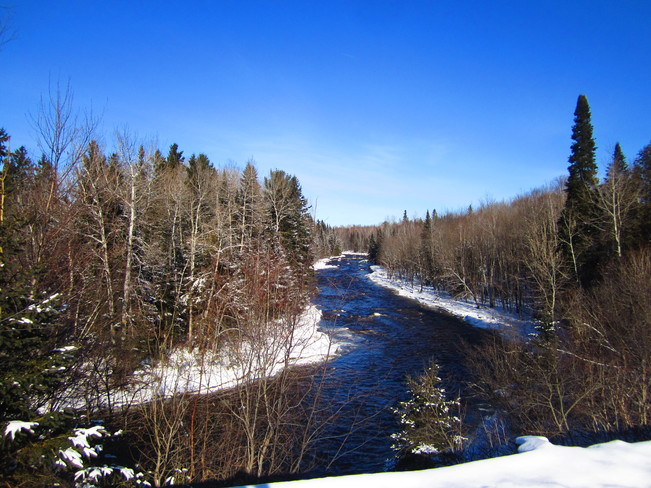 cold stream Temperance Vale, New Brunswick Canada