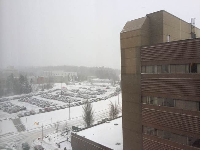 Blizzard St John Reg Hospital Saint John, New Brunswick Canada