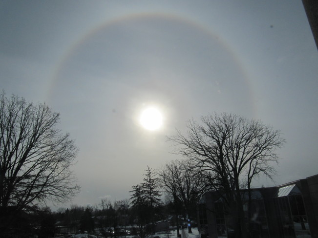 Circular Halo Cambridge, Ontario Canada