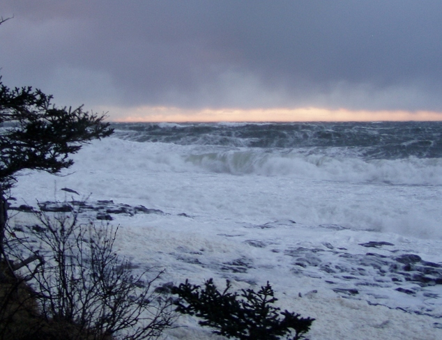 The Storms Last White Water Winds Digby, Nova Scotia Canada