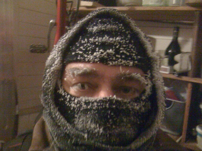 I may look cold .. but I am Not! Winnipeg, Manitoba Canada