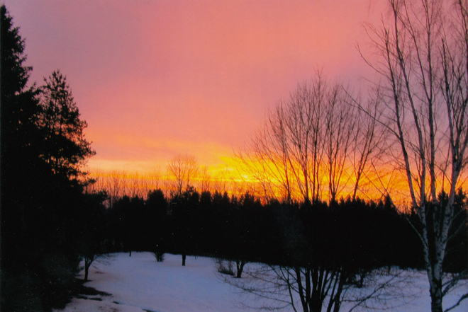 Sunrise Memramcook, New Brunswick Canada