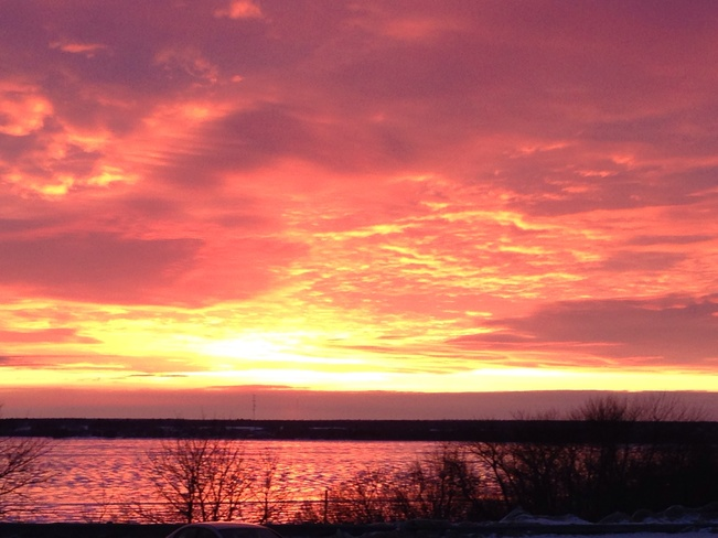 Bay of Chaleur Sunrise Bathurst, New Brunswick Canada