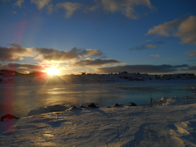Gorgeous Sunrise Twillingate, Newfoundland and Labrador Canada