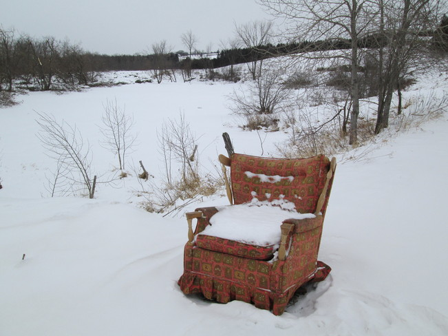 Easy Chair Sawyerville, Quebec Canada