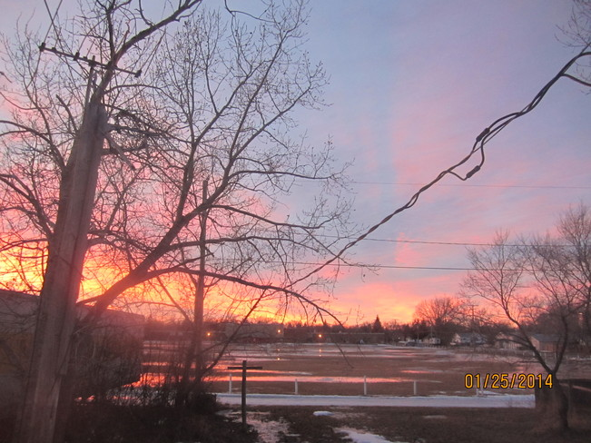 Chinook Sunset Maple Creek, Saskatchewan Canada