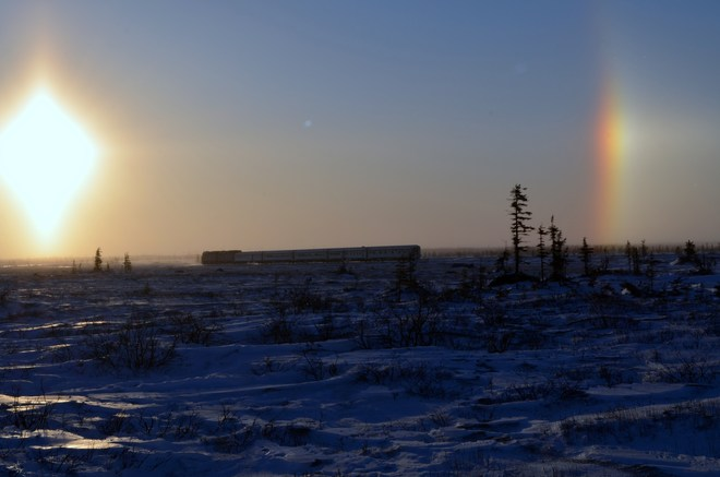 SUNDOGS Churchill, Manitoba Canada