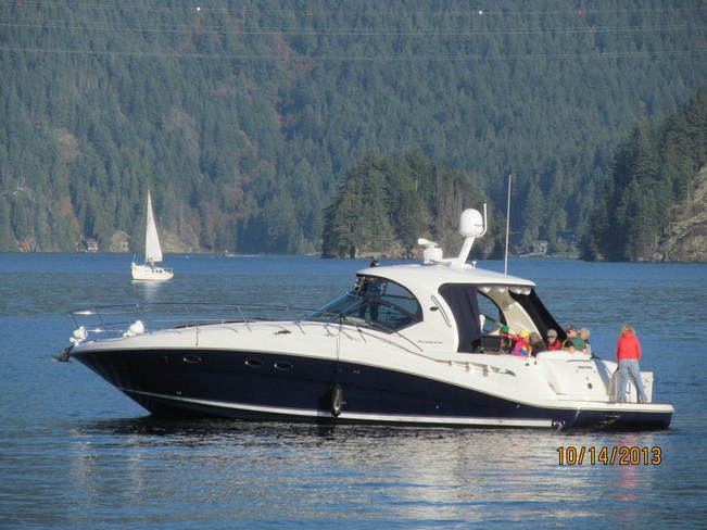 Beautiful Boating day North Vancouver, British Columbia Canada