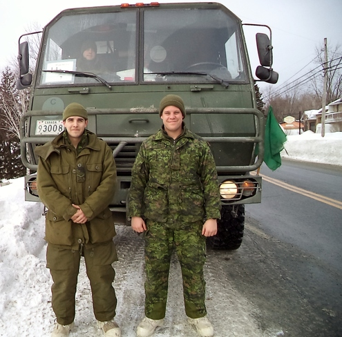 Our Military Service Men Lac-Etchemin, Quebec Canada