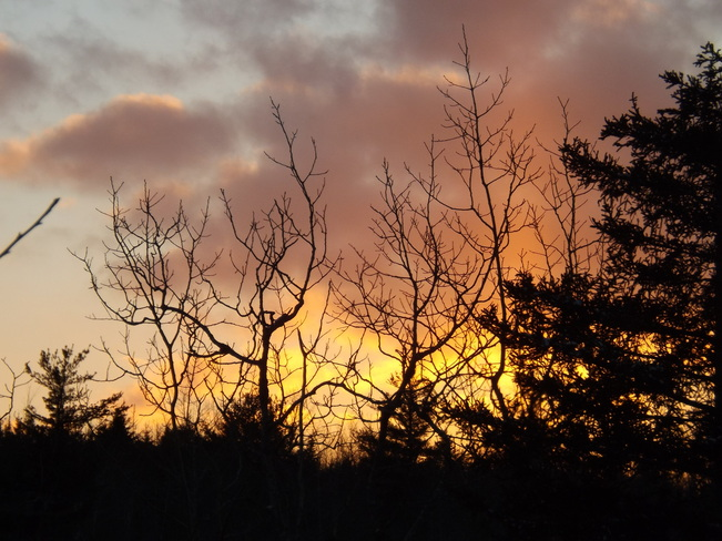 sunset thurs New Minas, Nova Scotia Canada