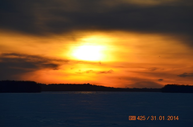 Sunset on Ottawa River