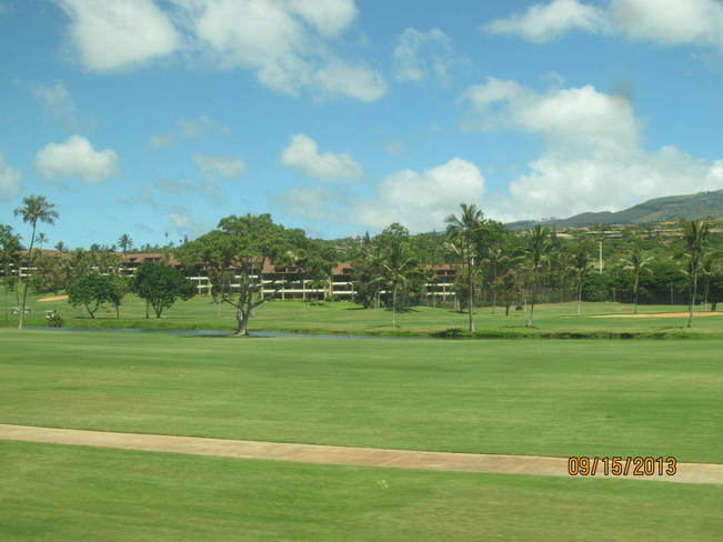 Golfing in Maui Lahaina, Hawaii United States