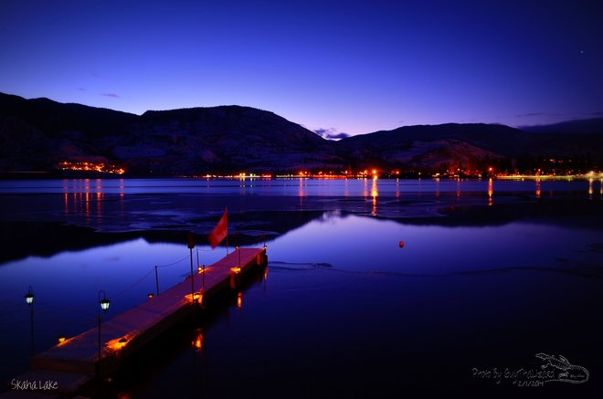 Evening of a perfect day Penticton, British Columbia Canada