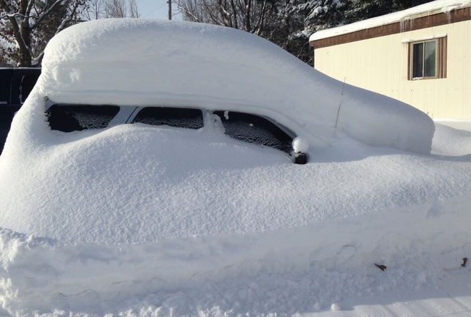 Seriously Snowed In!!! Orillia, Ontario Canada