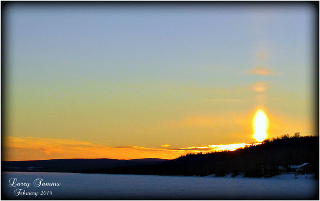 """Different Sunset"" Springdale, Newfoundland and Labrador Canada"